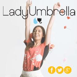 Social Media LadyUmbrella - thumnail