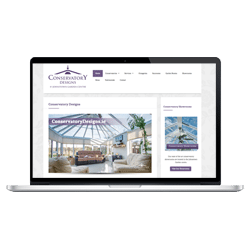 WordPress Web Design - Conservatory Designs - Thumbnail