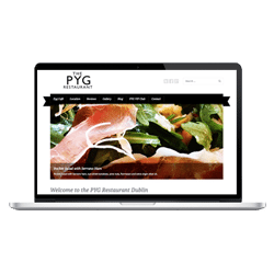 WordPress Web Design - Pyg Restaurant Dublin Thumbnail