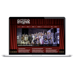 WordPress Web Design - R & R Musical Society thumb
