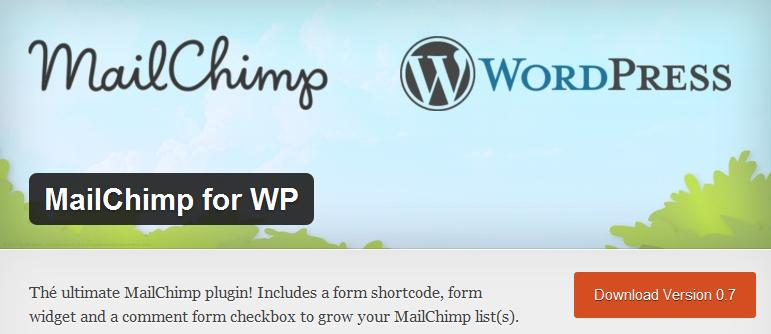 MailChimp Integration for WordPress