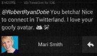 Mari Smith Social Media Tweet