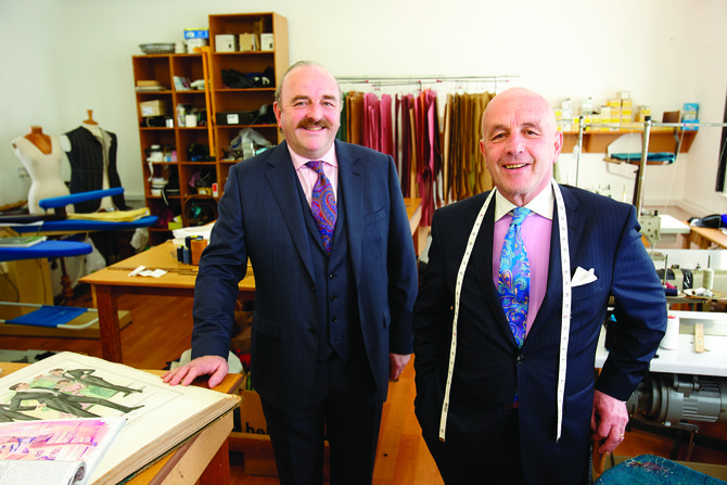 Louis Copeland and Adrian Copeland - National  Tailoring Academy