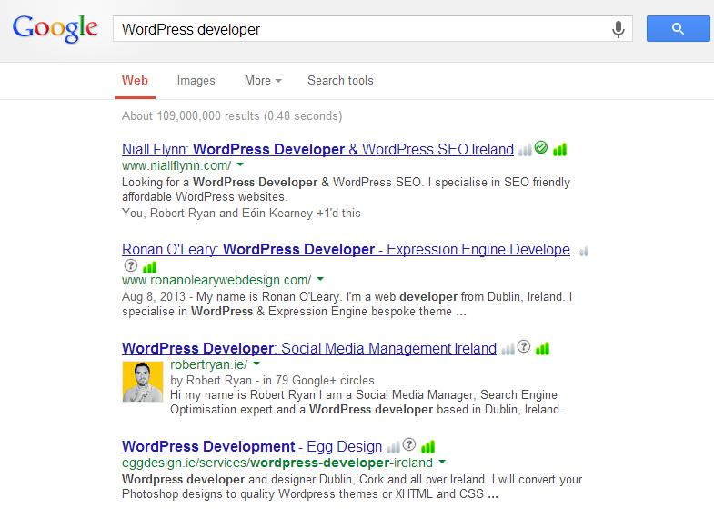 WordPress SEO - Search Engine Crowding