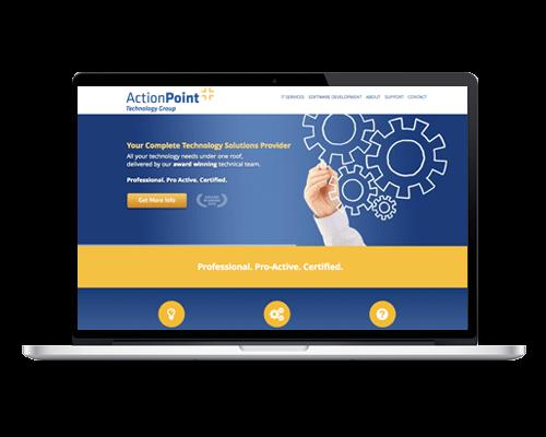 WordPress Web Design Ireland - Action Point