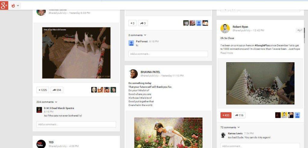 Google Plus Whats Hot