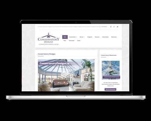 WordPress Web Design - Conservatory Designs