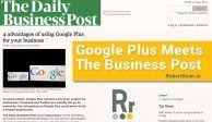 Google Plus Meets The Business Post