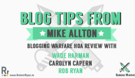 Blog Tips from Mike Allton - Blogging Warfare - HoA Review