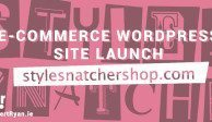 E-Commerce WordPress Site Launch - StyleSnatcherShop
