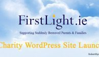 FirstLight Charity Wordpress Site Launch
