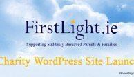 FirstLight Charity Wordpress Site Launch
