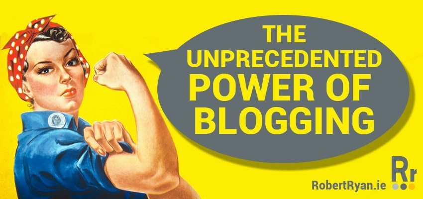 The Unprecendented Power of Blogging - WordPress Developer