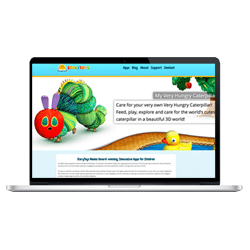 WordPress Web Design - StoryToys