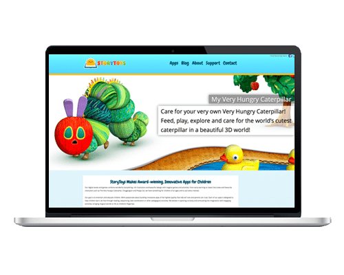 WordPress Web Design Ireland - StoryToys
