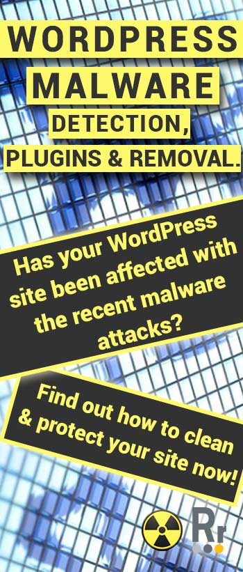 WordPress Malware Detection, Plugins and Removal Vertical