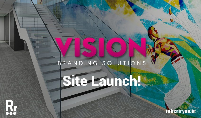 Vision Branding Dublin - WordPress Site Launch