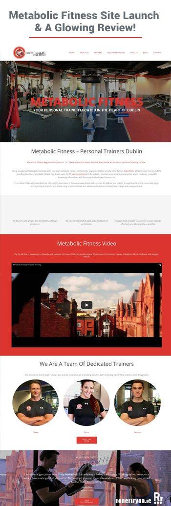 WordPress Site Launch - Metabolic Fitness & A Glowing WordPress Developer Review