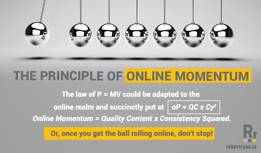 The Principle of Online Momentum