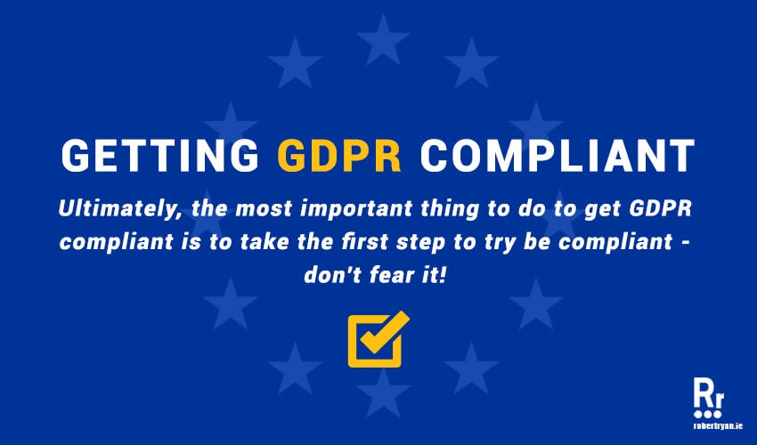 Get GDPR Compliant for WordPress