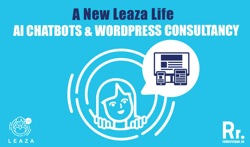 Learn about Leaza, the new AI finance chatbot and how we designed their logo & branding and provided them with WordPress consultancy to build their site!